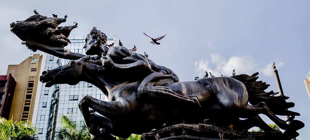 Monumento Bolívar Desnudo - Cortesía Alcaldía de Pereira