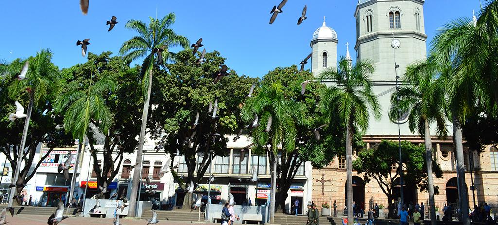 Plaza de Bolívar - Cortesía Alcaldía de Pereira